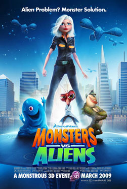 Monsters vs Aliens - Reese Witherspoon, Seth Rogen